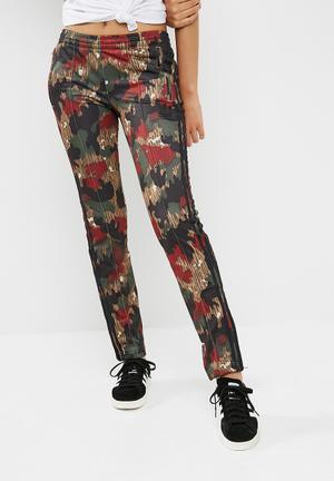 Adidas Originals FB Pants Bottoms Red,Beige,Green & Black