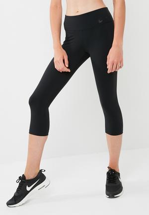 Nike Power Legendary Capri Tights Bottoms Black