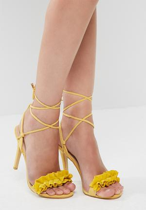 Footwork Piper Heels Yellow