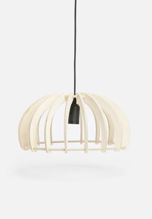 Emerging Creatives Hue Pendant Lighting Birch Ply