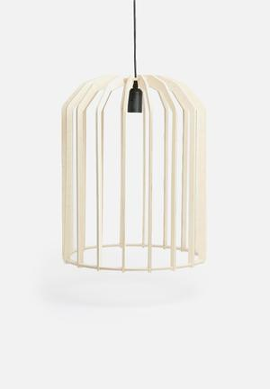Emerging Creatives Bjorn Plus Pendant Lighting Birch Ply
