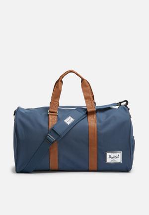 Herschel Supply Co. Novel Duffle Bags & Wallets Navy & Tan