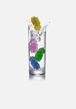 Kikkerland Reusable Ice Cubes Diver Set Of 8 Gifting & Stationery