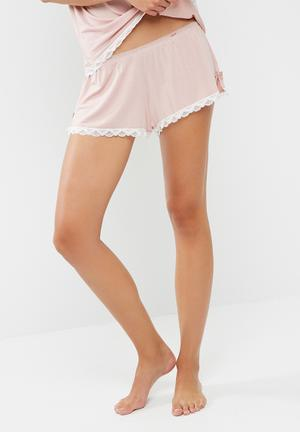 Dorina Romy Shorts Sleepwear Pink