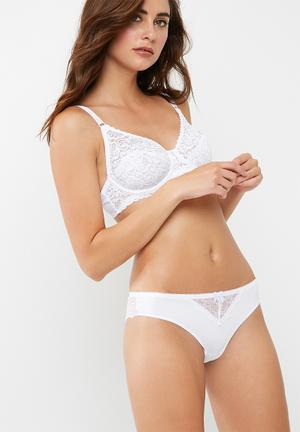 Dorina Colette Brazilian Brief Panties White