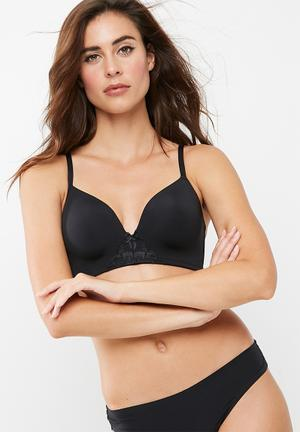 Dorina Michelle Soft Bra Black