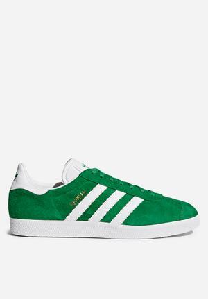Adidas Originals Gazelle Sneakers Green/white/gold Met