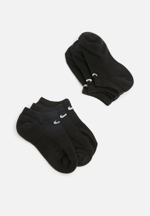 Nike Performance Cushion Ankle Socks Black