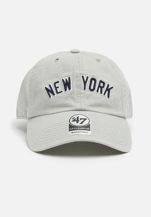 47 Brand 47 Brand Adjustable Headwear Grey & Navy