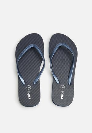 Cotton On Rubi Thong Sandals & Flip Flops Navy