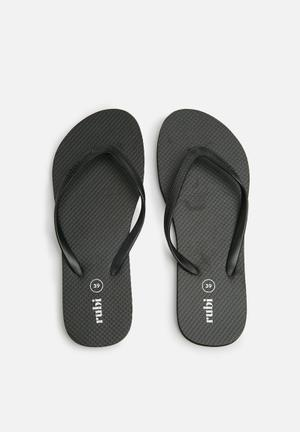 Cotton On Rubi Thong Sandals & Flip Flops Black