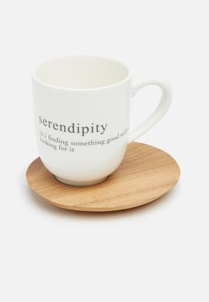 Love Milo Serendipity Mug With Saucer