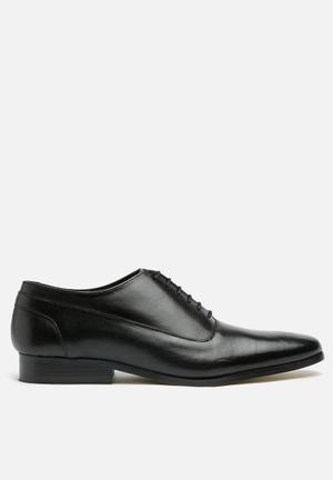Basicthread Marlon Leather Oxford Formal Shoes Black