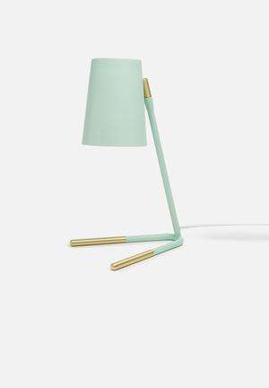 Illumina Gold Dipped Studio Lamp Lighting Mint