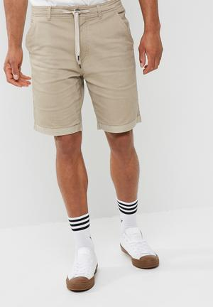 Cotton On Tailored Casual Shorts Beige