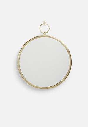 Sixth Floor Adanne Mirror Accessories Iron/mirror