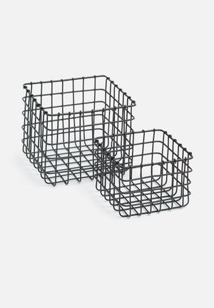 Pomona basket set of 2