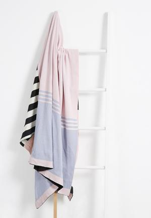 Sixth Floor Onism Throw 100% Cotton