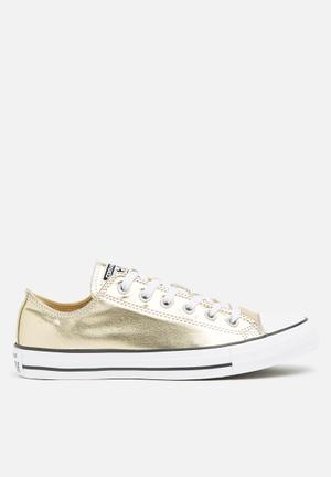 Converse Chuck Taylor All Star- OX Sneakers Light Gold /White /Black
