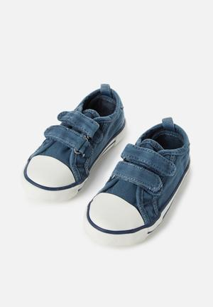 Cotton On Baby Harry Trainer Shoes Navy