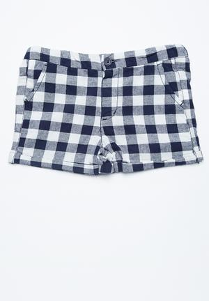 Cotton On Kids Cassie Printed Short Navy & White