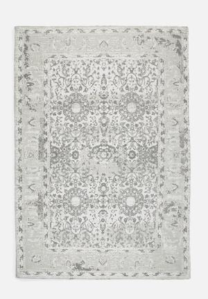 Sixth Floor Antique Printed Rug 100% Cotton
