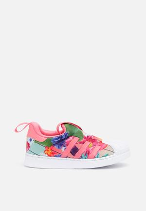 Adidas Originals Kids Superstar 360 Shoes Chalk Print