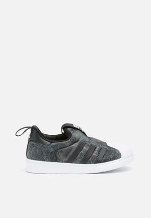 Adidas Originals Kids Superstar 360 Shoes Core Black