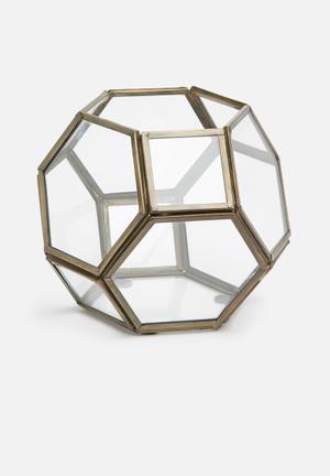 Brass lantern ball