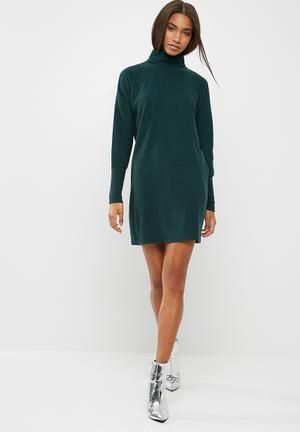 Noisy May City Dress Casual Green