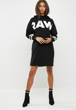 G-Star RAW Scolla Hooded Dress Casual Black