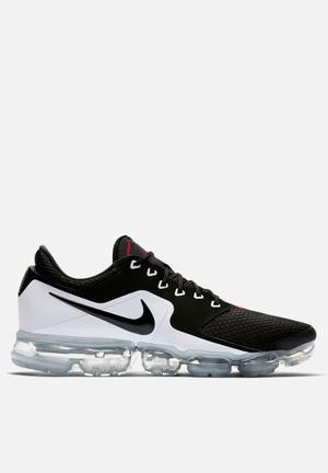 Nike Air VaporMax Running Sneakers Black/Black - Metallic Silver