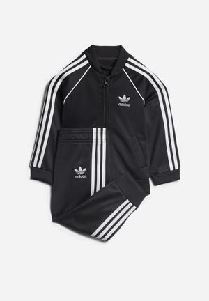 Adidas Originals Kids SST Tracksuit Jackets & Knitwear Black