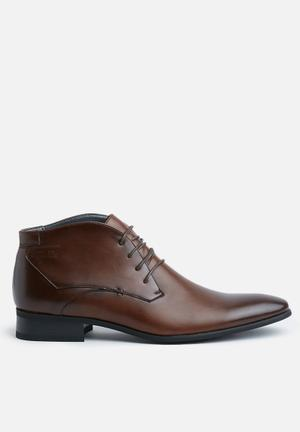 Gino Paoli Hassan Boots Brown