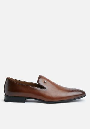 Gino Paoli Imran Slip-ons And Loafers Tan