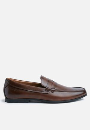 Gino Paoli Hussein Slip-ons And Loafers Brown