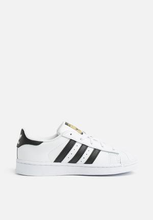 Adidas Originals Kid Superstar Shoes White & Black