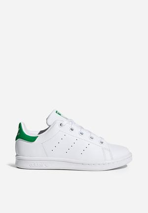 Adidas Originals Kids Stan Smith C Shoes White & Green