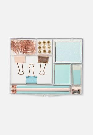 Acrylic stationery set