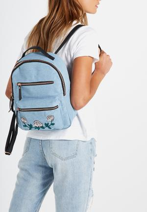 Typo Mini Backpack Bags & Purses Blue