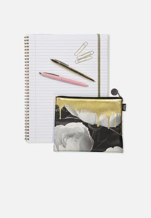 PU campus pencil case