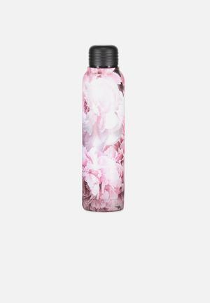 Small metal drink bottle