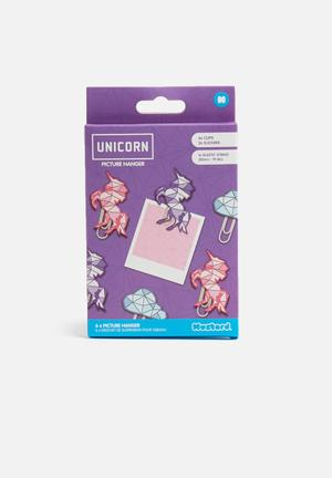 Mustard  Unicorn Clipit Gifting & Stationery
