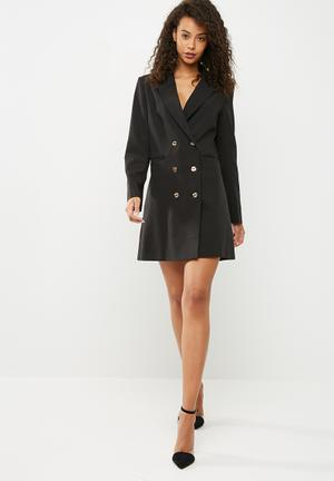 Dailyfriday Blazer Dress Formal Black