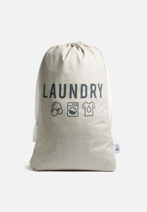 Sixth Floor Draw String Laundry Bag Bath Accessories