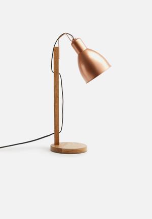 Sixth Floor Emile Table Lamp Lighting Metal