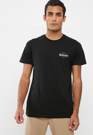 Cotton On Tbar Tee T-Shirts & Vests Black