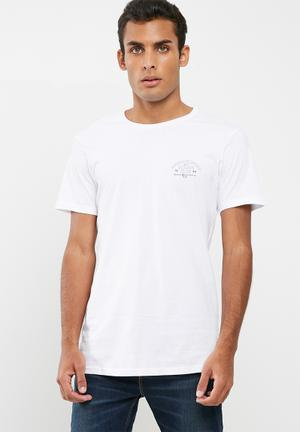 Cotton On Tbar Tee T-Shirts & Vests White