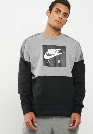 Colour block crew sweat