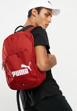 PUMA Phase Backpack Bags & Wallets Red
